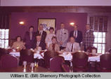 Elks Club, visit of Grand Exalted Ruler, Williston, N.D.
