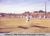 Williston Coyotes versus Watford City Wolves football game, N.D.