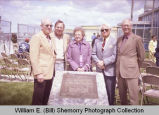 Sloulin Field International Airport rededication and air show, Sloulin family, N.D.