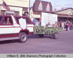 Tioga Farm Festival 1983, The Viking House Motel float, N.D.