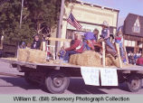 Tioga Farm Festival 1983, farm float, N.D.