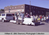 Tioga Farm Festival 1982, hospital float, N.D.