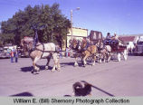 Tioga Farm Festival 1982, horse drawn wagon, N.D.
