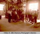 Williston Desk and Derrick Club visits Signal Plant, Tioga, N.D.