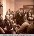 Hearing on oil problem, North Dakota State Capitol, Bismarck, N.D.
