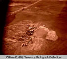 Blikre oil well aerial photograph, N.D.