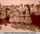 Ribbon cutting, Tioga, N.D.