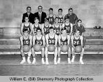 Basketball team, 1968-1969, North Dakota