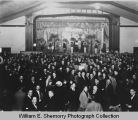 Williston Armory, Miss Carnival Queen beauty contest, N.D.
