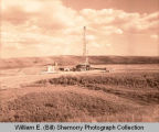 Unidentified oil well east of Signal Plant, Tioga, N.D.