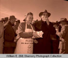 Tioga oil discovery monument dedication and barbecue, N.D.