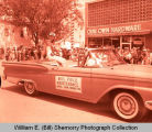 Tioga Oil Celebration Days parade, Miss Oil Field Maintenance, Tioga, N.D.