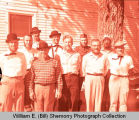 Tioga Oil Celebration Days, beard contest winners, Tioga, N.D.