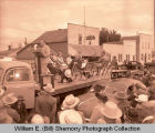 Tioga Oil Celebration Days, guests of honor, Tioga, N.D.