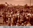 Williston oil celebration crowds, Williston, N.D.