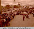 Williston oil and farm festival feed line, N.D.