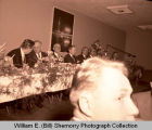 Williston Oil discovery day celebration banquet, N.D.