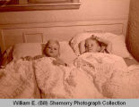 Boys in bed on Christmas Eve, Williston, N.D.