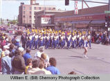 Band Day Parade 1989, Tioga High School marching band, Williston, N.D.