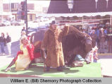 Band Day parade 1989, Zahl buffalo float, Williston, N.D.