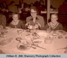 Cub Scouts at dinner, Williston, N.D.