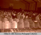 Crowd in old Armory, Williston, N.D.