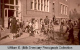 Fire drill in schools, Williston, N.D.