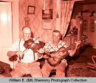 Ed and Elmer Mengel, musicians, Williston, N.D.
