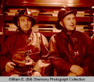 Les Panger and Oscar Resell in Williston Fire Department, N.D.