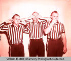 Referees hear no evil, see no evil and speak no evil, Williston, N.D.
