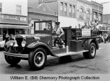 Parade, Jamestown Fire truck, Williston, N.D.