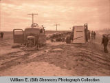 Ray fire engine wrecked, N.D.