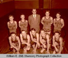 Watford City Wolves team photograph