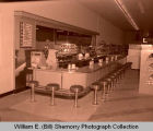 Unidentified grocery store and restaurant interior, Williston, N.D.