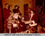 Salvation Army at Christmas, Williston, N.D.