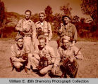 William E. (Bill) Shemorry with U.S. Army 164 Signal Photo Company photographers, China