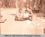 William E. (Bill) Shemorry receives mail in China