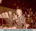 Williston High School band performance, N.D.