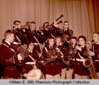Williston High School band members, N.D.