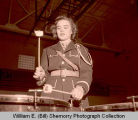Williston High School band drummer, N.D.