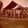 164th Signal Photo Company training camp feed line in Tennessee