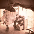 William E. (Bill) Shemorry on maneuvers in Tennessee