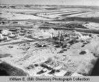 Westland Oil Company Refinery 1970s aerial photograph, Williston, N.D.