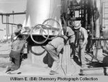 Oil workers, Williston Basin, N.D.