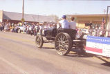 Alexander Old Settler's parade 1988, Alexander Lewis and Clark Museum float, N.D.