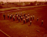 Band Day 1958, band, Williston, N.D.