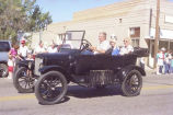 Alexander Old Settler's parade 1988, old-time automobile, N.D.