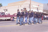 Alexander Old Settler's parade 1988, Fort Buford marchers, N.D.