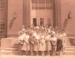 Band day hostesses, Williston, N.D.