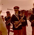 Band Day parade 1964, Williston High School Band, N.D.